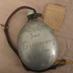 German Soldiers Water Bottle Found In Woking House Clearance