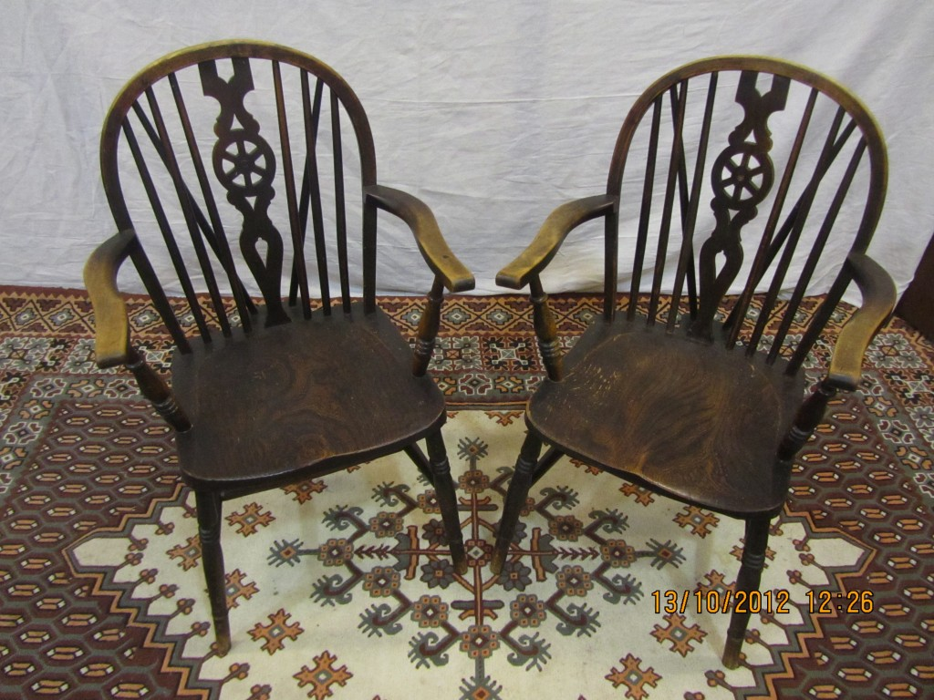 Oak Farmhouse Chairs In Highgate Valuation For Probate