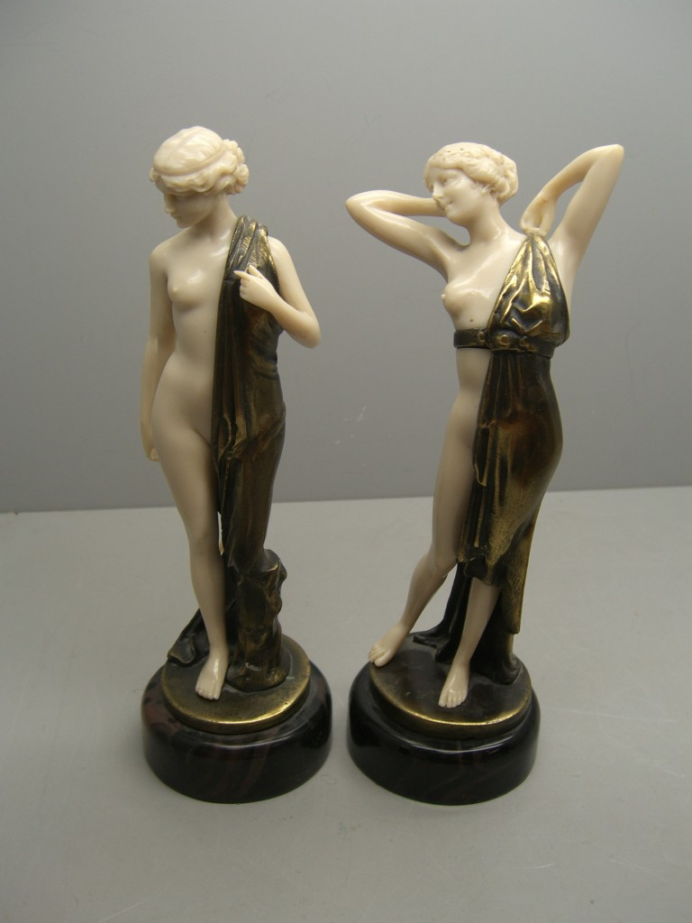 Ferdinand Preiss Bronze Figures In Holborn Valuation For Probate
