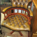 Leather Office Chair In Maida Vale Probate Valuation