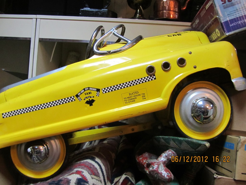 Toy Taxi Cab In Kingsbury Valuation For Probate