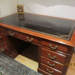 Victorian Mahogany Partner Desk In Pinner Valuation For Probate