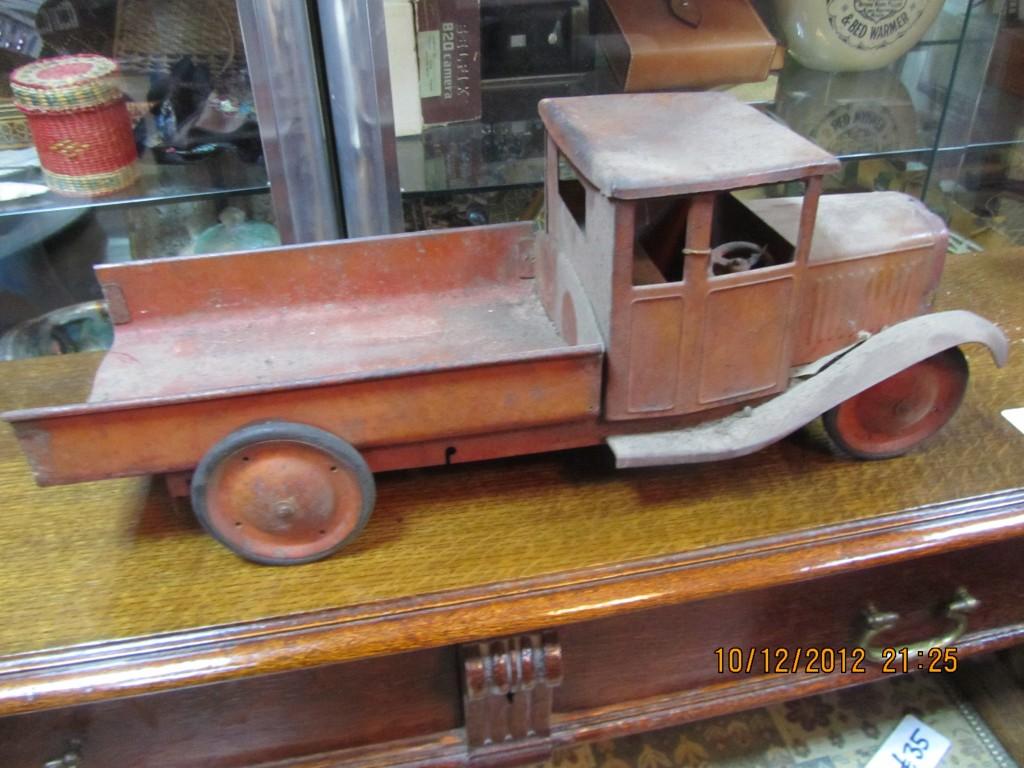 Photo Of Vintage Metal Toy Truck In Ruislip Probate Valuation