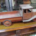 Photo Of Vintage Metal Toy Truck In Ruislip Probate Valuation