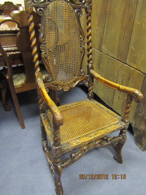 Charles II Elbow Chair