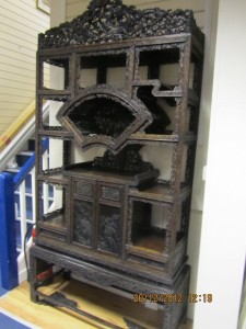 Chinese Cabinet On Stand