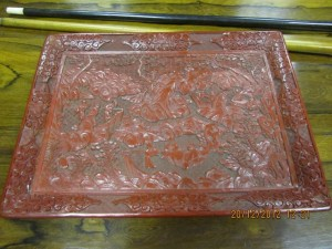 19th Century Lacquered Tray