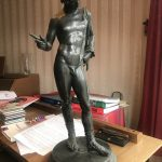 Probate News – Fine Bronze Figure Valued For Probate In Epsom Property