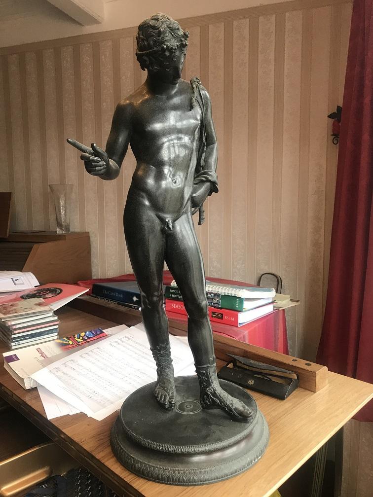 Roman Bronze Figure