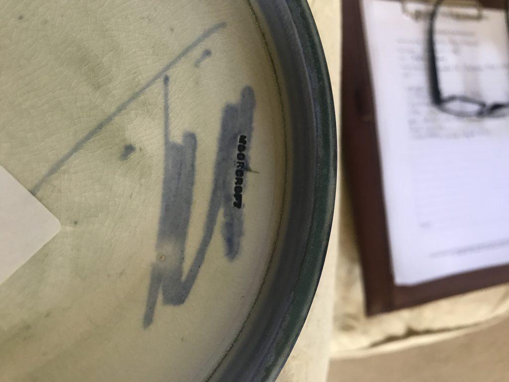 William Moorcroft Signature
