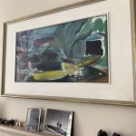 Ivon Hitchens Three Boats