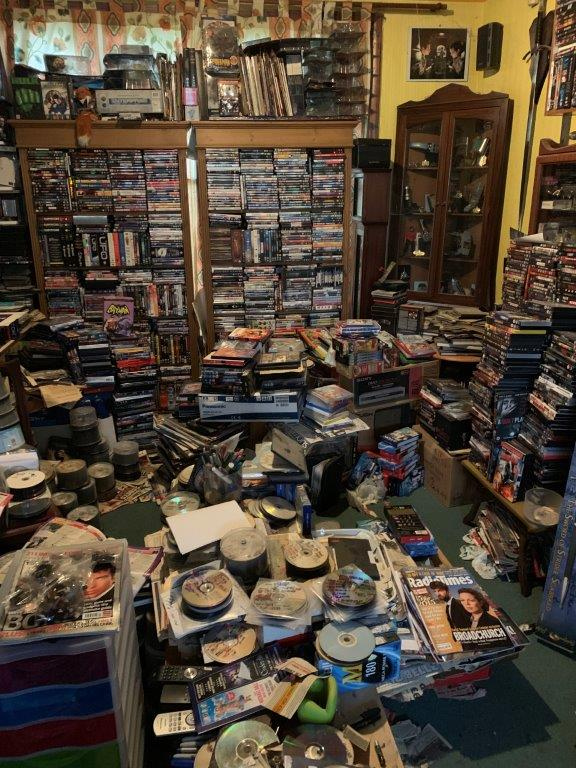clearing out a compulsive hoarder house
