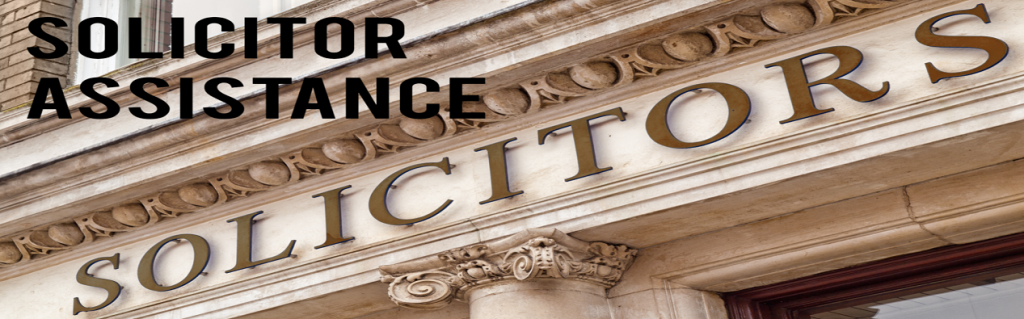 Solicitor Assistance