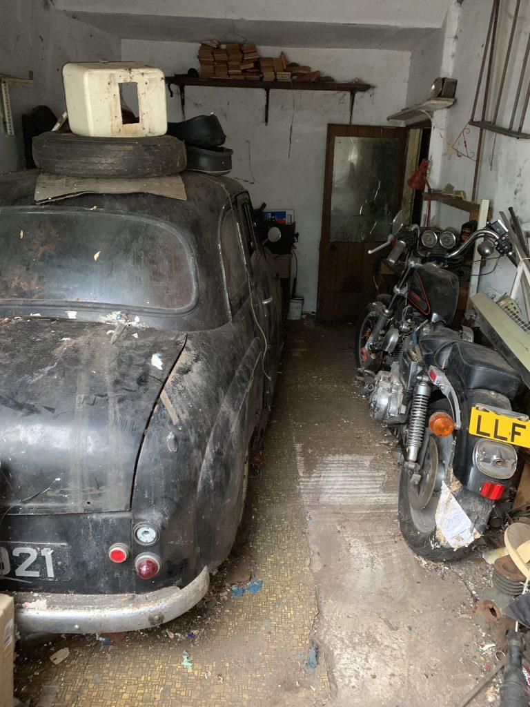 Vintage Vehicle Hoarding